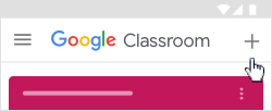 To Join Google Classroom on Android01