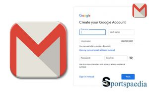 Open Gmail Account - Opening a New Google Gmail Account